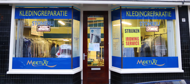 Meetlat Oud Zuid Kledingreparatie en Stomerij in Amsterdam